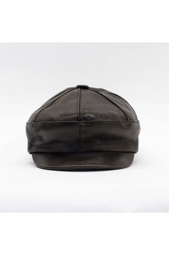 Leather Hat Brown